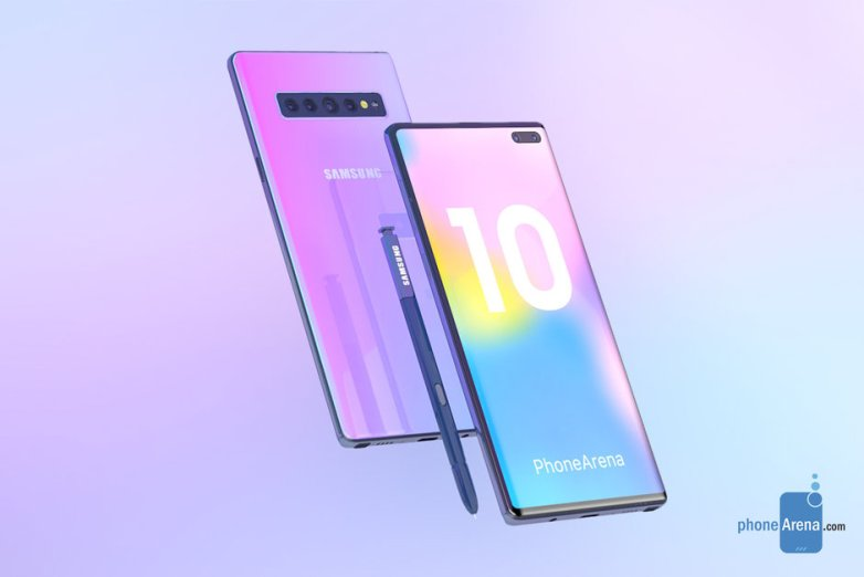 galaxy note 10 concepts, note 10 design